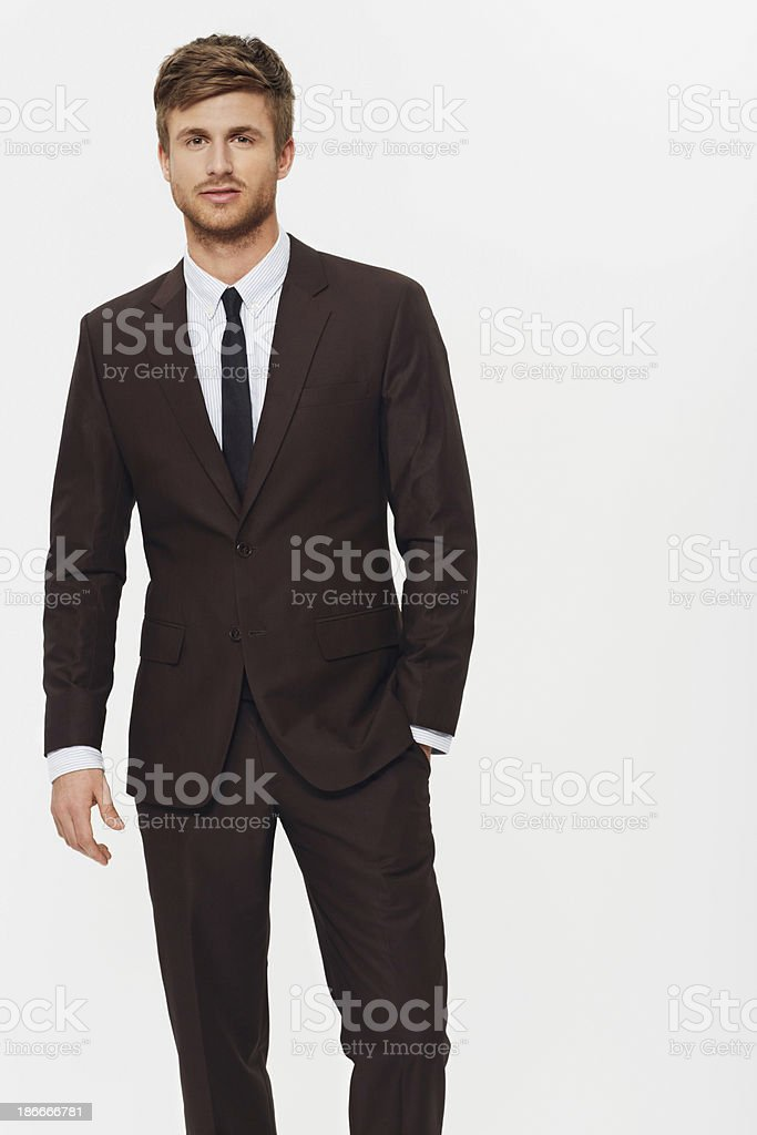 Making business look cool royalty-free stock photo