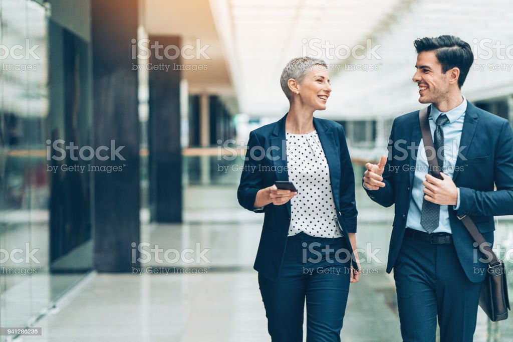 Making business together stock photo