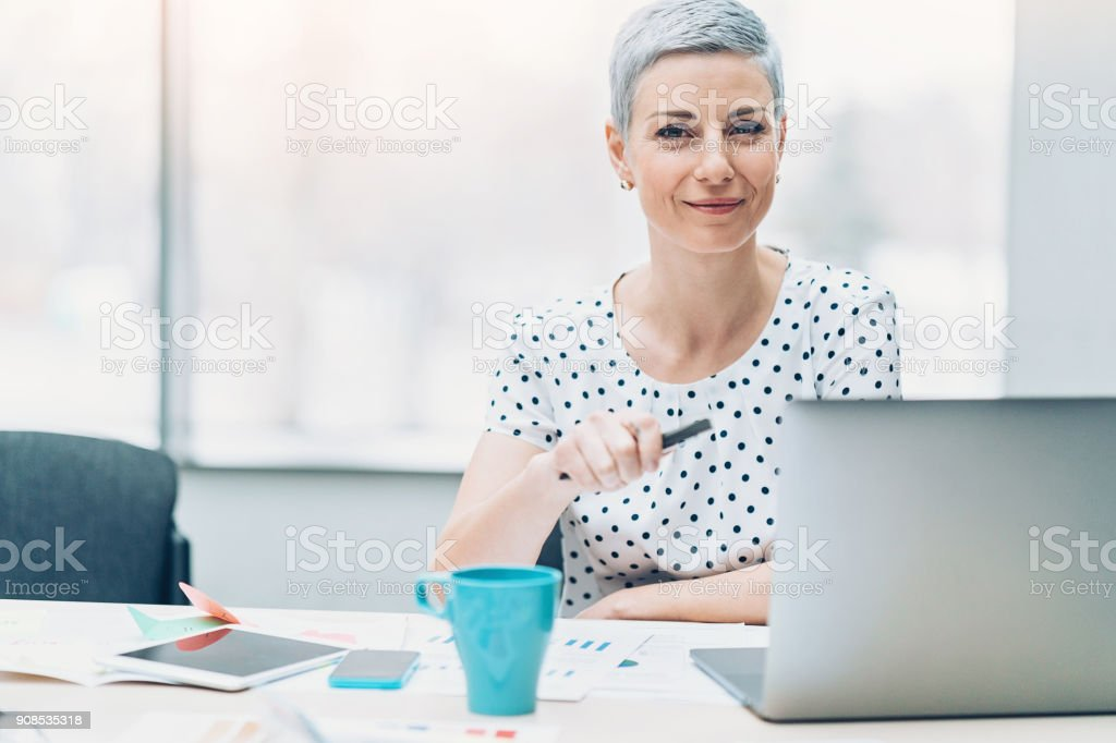 Making business with confidence stock photo