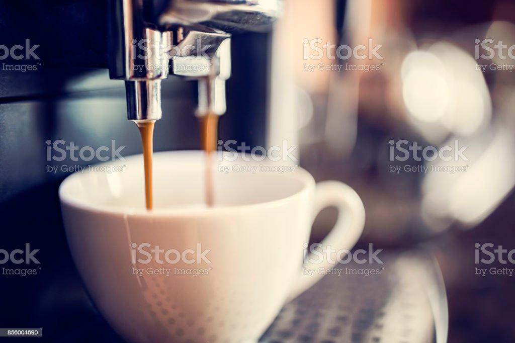 コーヒーを ストックフォト