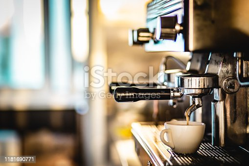 Coffee preparation with espresso machine