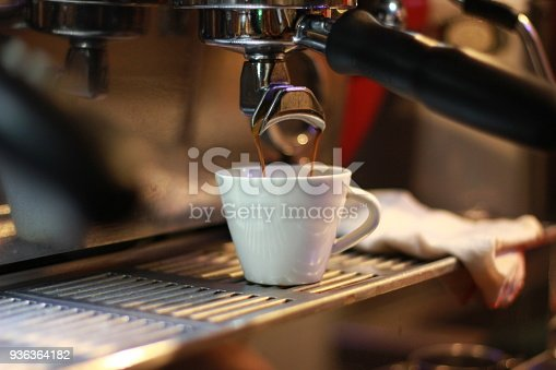 istock Making Coffee with Espresso Machine 936364182