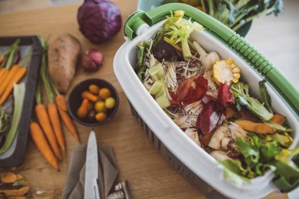 Kompost aus Gemüseresten – Foto