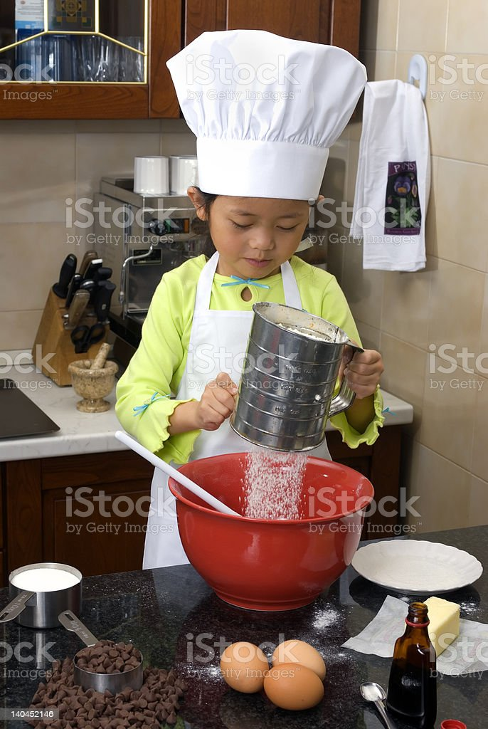 Making Cookies 001 royalty-free stock photo