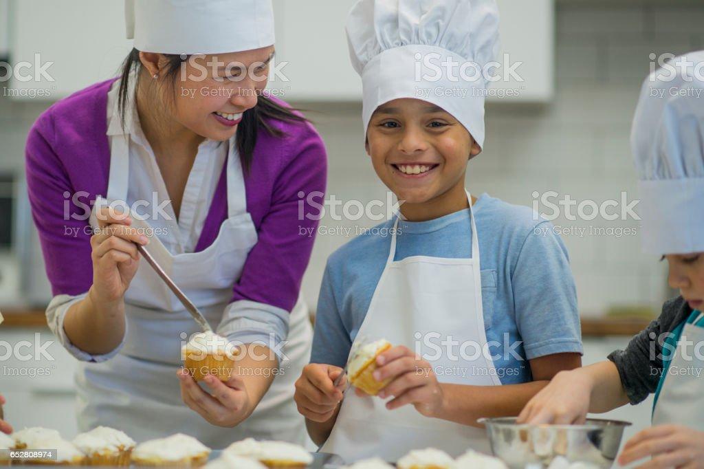 Die Cupcakes auf einer Exkursion – Foto