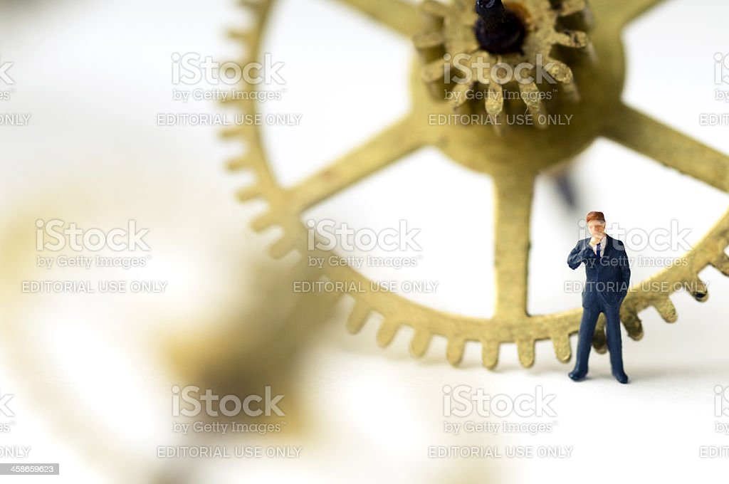 making decisions royalty-free stock photo