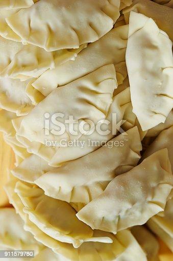Making dumpling