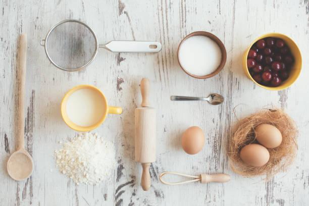 Faire gâteau aux fruits - Photo