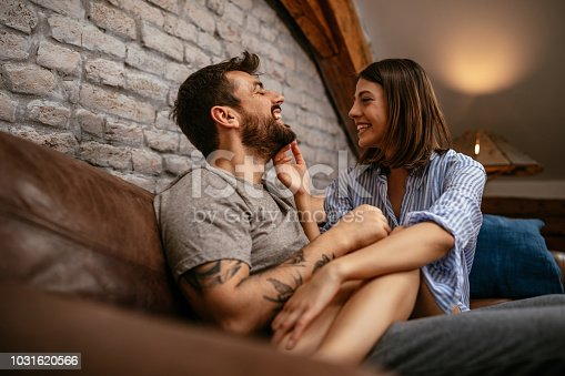 istock Making him laugh 1031620566