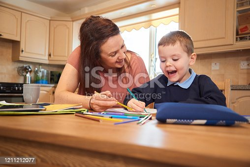 858130938 istock photo Making homework fun 1211212077