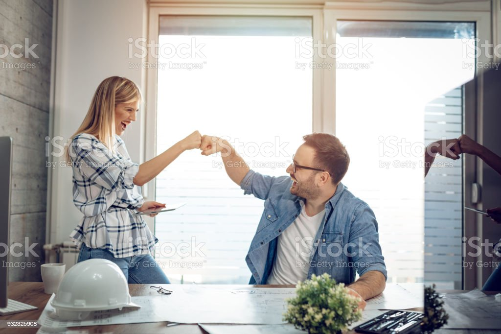 Making It Another Successful Day stock photo