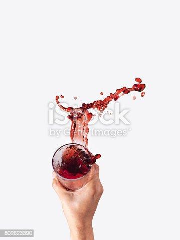 istock making juice stain 802623390