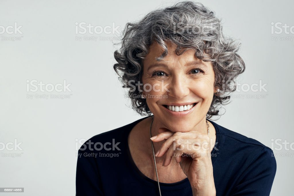 Making life great no matter what my age stock photo