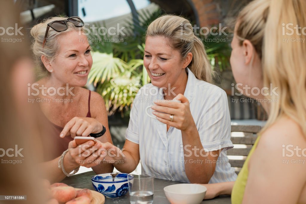 Making Memories on holiday stock photo