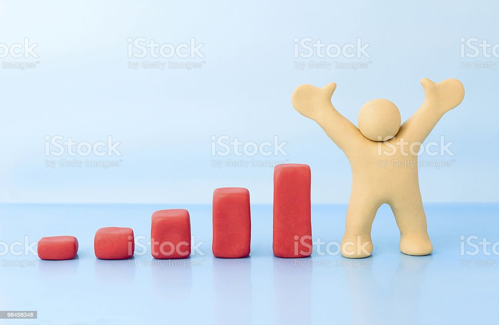Making money concept royalty-free stock photo