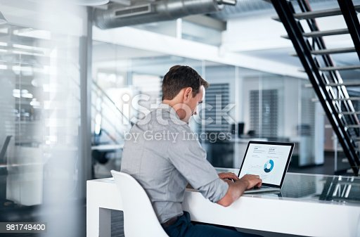istock Making month end reporting a breeze with modern tech 981749400