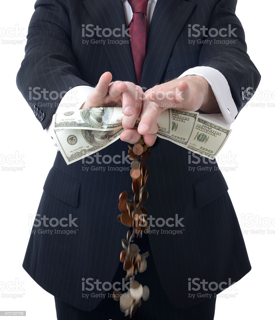 making more money stock photo