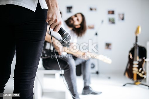 849362192 istock photo Making music together 849349580