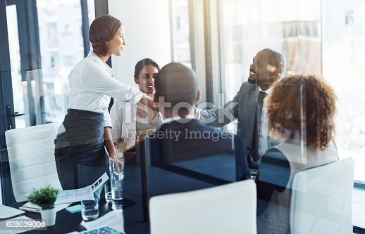 istock Making mutually beneficial deals 628039008