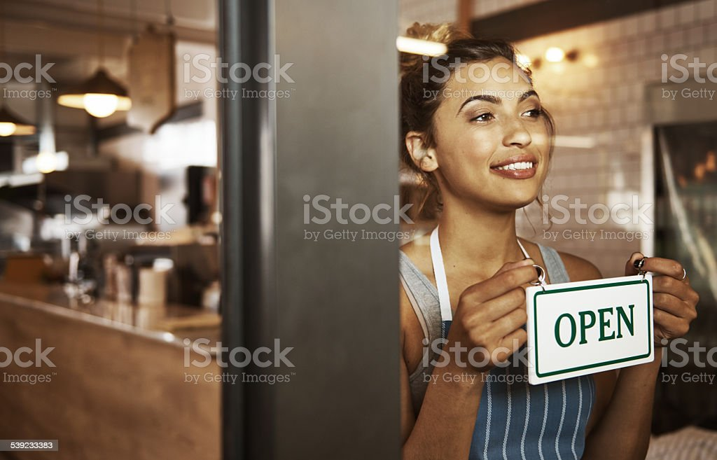 Making my dreams a reality stock photo