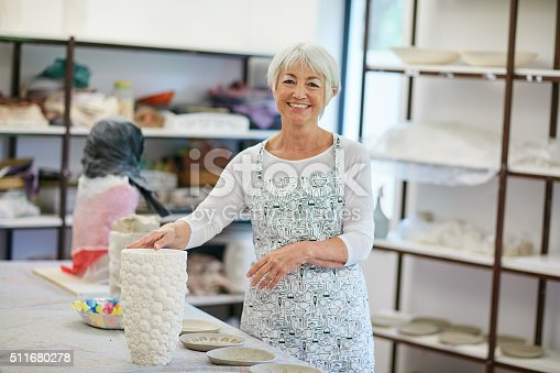 511679304istockphoto Making my retirement a crafty one 511680278