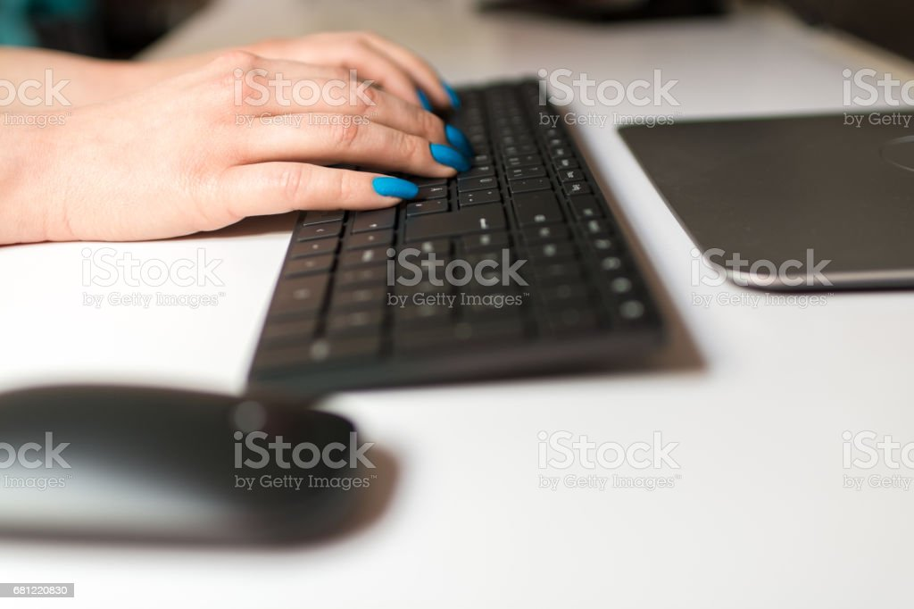 Making new inputs stock photo