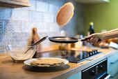 istock Making Pancakes 1276434461