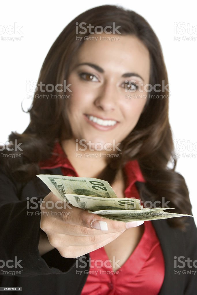 Making payment royalty-free stock photo