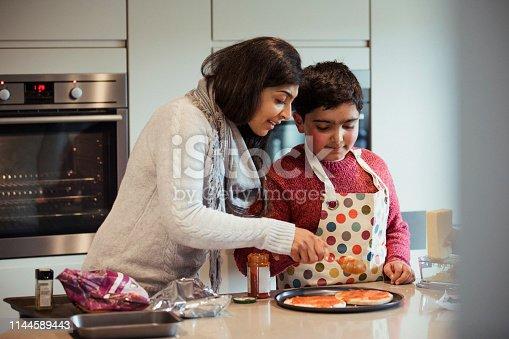 istock Making Pizza is Fun 1144589443