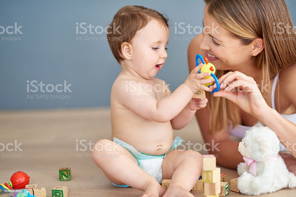 Making playtime fun and engaging stock photo