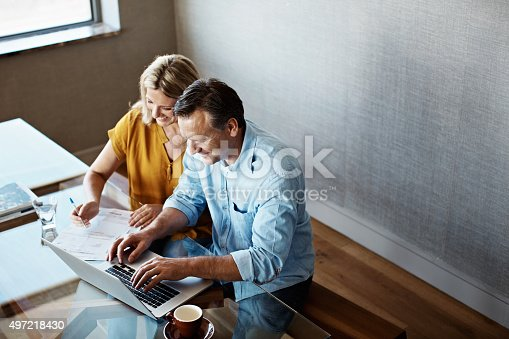 istock Making sense of the home finances 497218430
