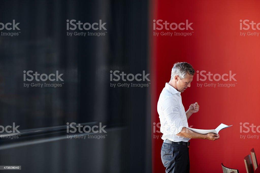 Damit er sein Bestes geben wird, um die Tagung – Foto