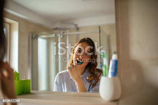 637874676istockphoto Making sure they'll stay clean all day 843642266