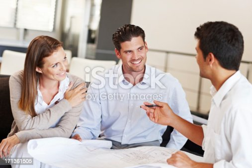 istock Making Sure they're all on the Same Page 171361505