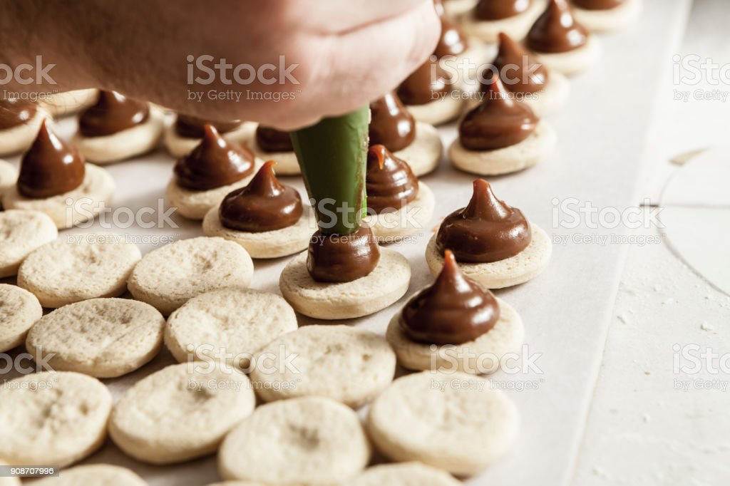 Making Sweets stock photo