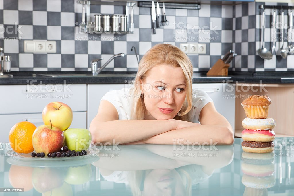 Making the right choice isn't easy stock photo