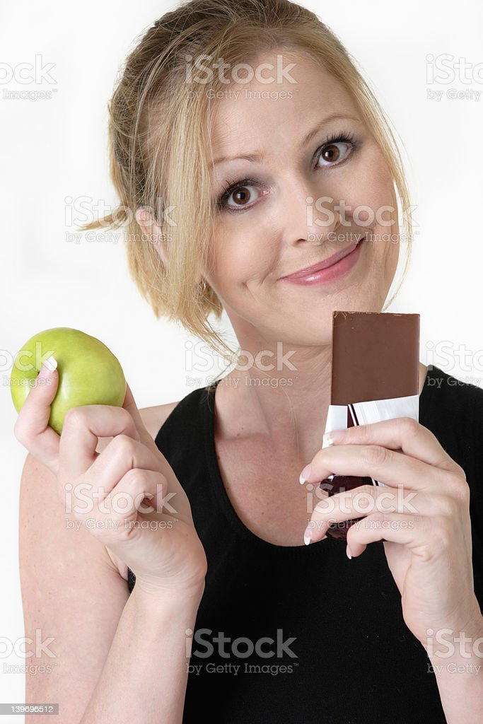 making the right choice stock photo
