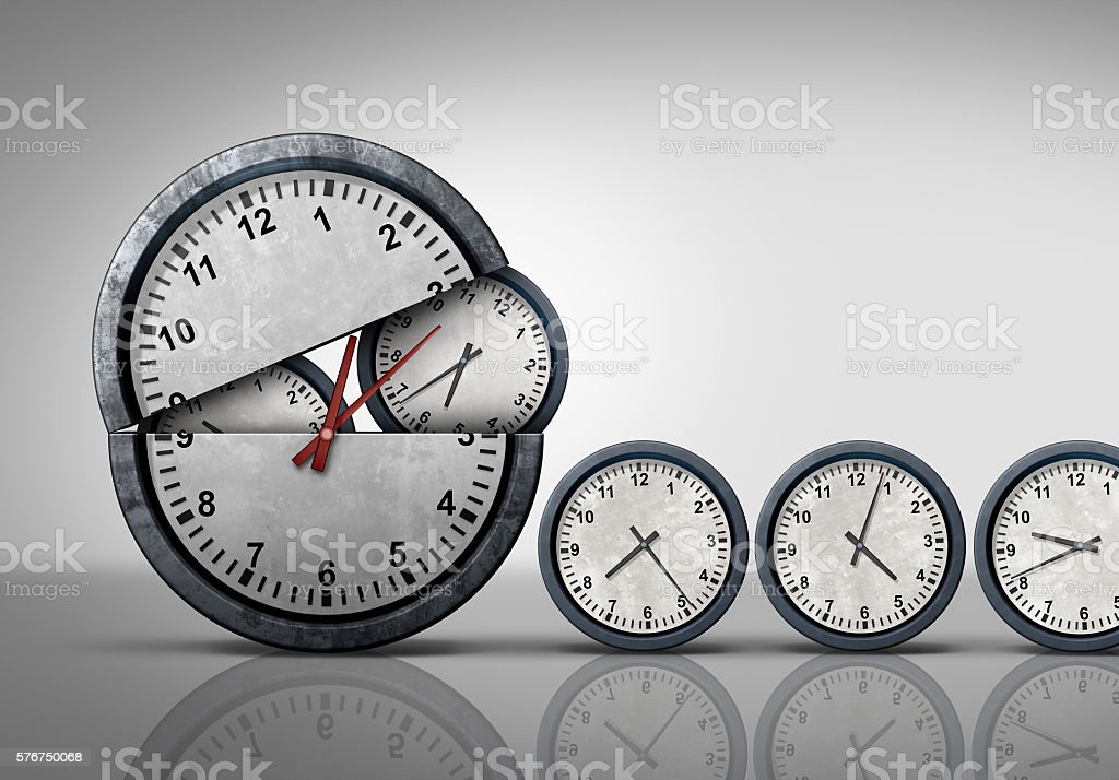 Making Time stock photo