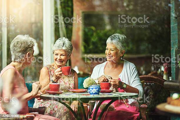 Making Time To Catch Up With Good Old Friends Stock Photo - Download Image Now