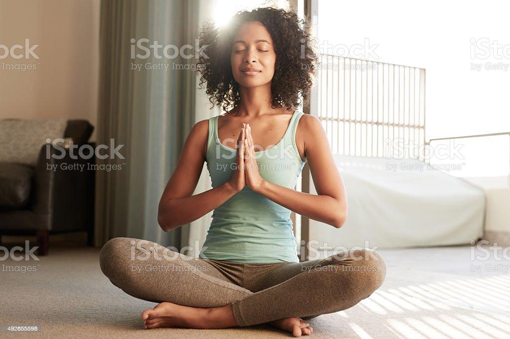 Die Zeit zu meditieren – Foto