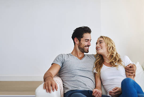 Making time to reconnect as a couple stock photo