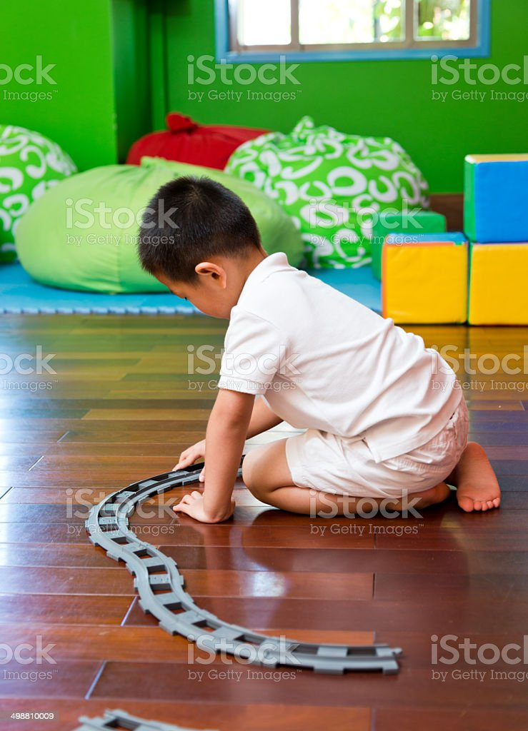 making train track royalty-free stock photo