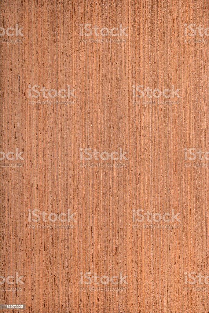 makore texture, wood veneer stock photo