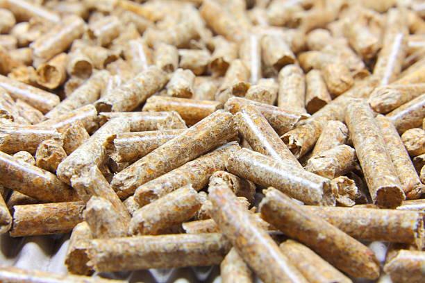 Macrobiotic diet von Holzpellets – Foto