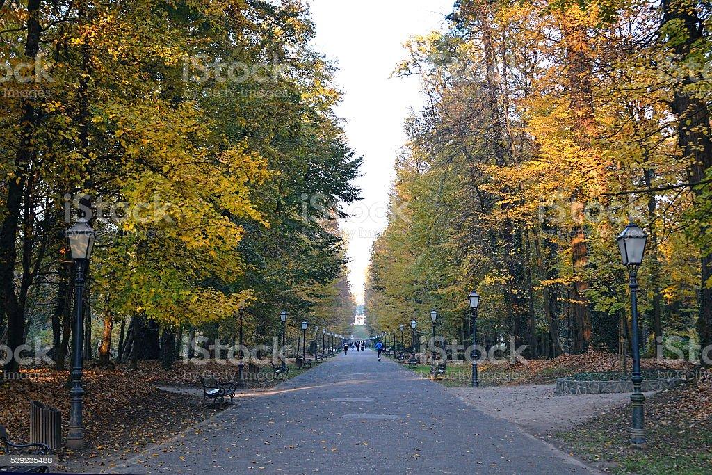 Parque de Maksimir, Zagreb, Croacia foto de stock libre de derechos