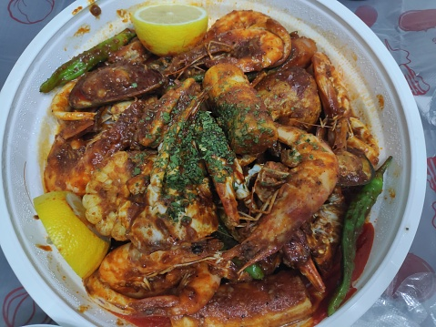 Mala Spicy Seafood Boil