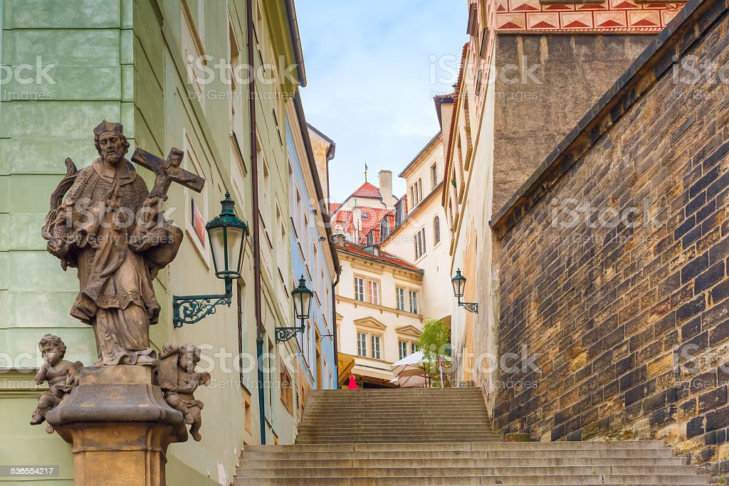Mala Strana in Prague, Czech Republic stock photo