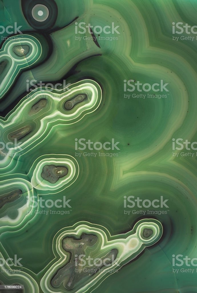 Malachite Abstract Background stock photo