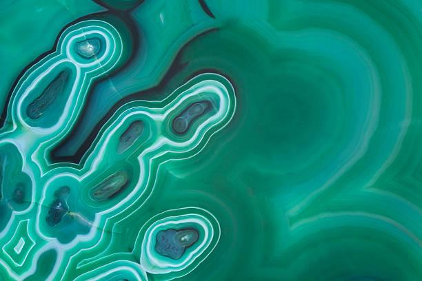 malachite abstract background - malachiet stockfoto's en -beelden