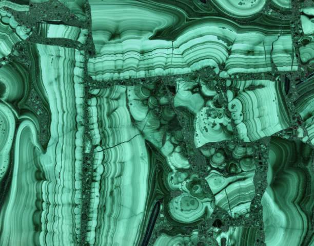 malachit-hintergrund - malachit stock-fotos und bilder